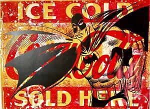 Peter Mars Art Batman Superheroes TV Soda Pop MCM Crime Fighting Justice League