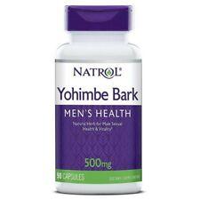 YOHIMBIN 500 MG X 90 Caps. NATROL- Yohimbe Bark - Mens Sexual Health,Fat Burning