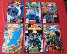 X-FACTOR LOT OF 6 SEE PHOTO FOR  ISSUES  MARVEL  XFA5  NICE!!!