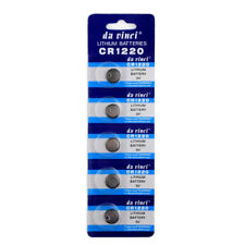 5 x CR1220 3v Battery Lithium Coin Cell Button DL1220 1220 L04 ECR1220 Batteries
