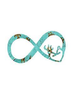 Infinity Teal Camo decal