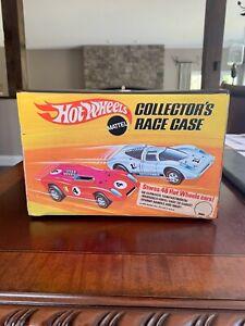 1969 Mattel Hot Wheels Redlines Era 48 Car Collector's Race Case #4977