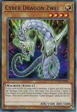 YU-GI-OH CARD: CYBER DRAGON ZWEI - LEDD-ENB02 - 1ST EDITION