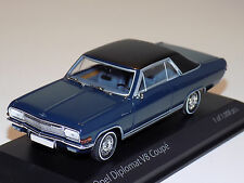 1/43 Minichamps Street Opel Diplomat V8 Coupe in Dark Blue Limited 1008 pieces