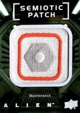 Alien Movie, Upper Deck, Semiotic Standards Patch Card SP27 Maintenance