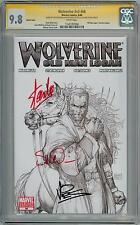 WOLVERINE #66 TURNER SKETCH VARIANT CGC 9.8 SIGNATURE SERIES SIGNED x3 STAN LEE
