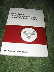 Gedenkbuch der  18. Infanterie - Division - 18. Panzergrenadier-Division   RAR !