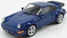 Porsche 911 964 Turbo 1990 Blue Met Welly 1:24 MAP02493716