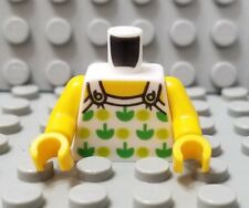 LEGO New City Female Minifigure Torso with Apples and Buttons Pattern