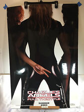 """CHARLIE'S ANGELS FULL THROTTLE POSTER 27"""" X 40"""" 2003 ORIGINAL,OUTDOOR CAMPAIGN"""