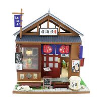 Dollhouse Miniature DIY Japanese-Style Little Bar 1:24 Scale Toy Models Decor