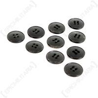 Vintage Buttons 1.5 cm - Many Colours Styles 1940s 1950s Dead Stock Job Lot 10