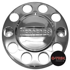"""1 Pair O-Trim 10 Stud 22.5"""" Nut rings for Mercedes stainless steel"""