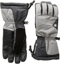 Columbia Mens Tumalo Mountain Gloves, Boulder/Shark, Large