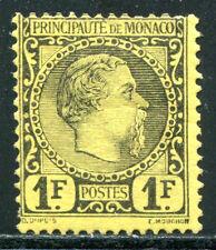Monaco 1885 9 * marchio bella € 1800 (e0884