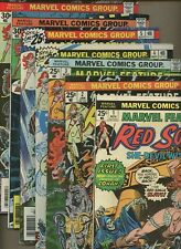 Marvel Feature: Red Sonja 1,2,3,4,5,6,7 * 7 Book Lot * Roy Thomas! Wolfman!
