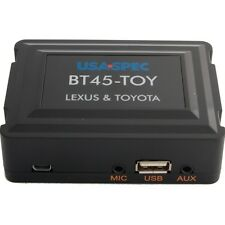 NEW USA SPEC BT45-TOY TOYOTA LEXUS PLUG & PLAY OEM INTEGRATION BLUETOOTH USB AUX