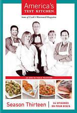 Americas Test Kitchen: Season Thirteen (DVD, 2013, 4-Disc Set) NEW & SEALED