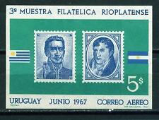 Uruguay Stamp Expo Souvenir Sheet 1967 Mnh