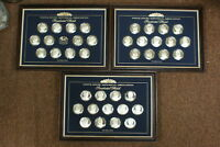 White House Historical Association 38 Silver Presidential Coin-Medals Set