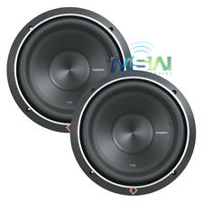 """(2) ROCKFORD FOSGATE P2D4-10 10"""" PUNCH P2 CAR STEREO SUB WOOFERS 600W RMS *PAIR*"""