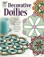 Decorative Doilies Plastic Canvas Pattern Annie's Attic Stained Glass Flowers