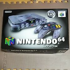 Nintendo 64 N64 Console Complete in Box Clear Black Limited Edition Beautiful!