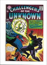 "CHALLENGERS OF THE UNKNOWN #58 [1967 VG+] ""LIVE TILL TOMORROW"""