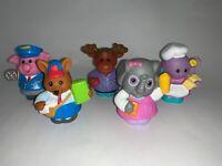 Lot of 5 Fisher-Price Little People Animalville Animals