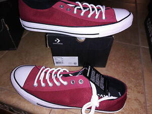 NEW $55 Mens Converse Chuck Taylor All Star Ox Back Alley Shoes, size 12