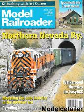 Model Railroader June 1997 DCC Auto Industry N Scale Scenery Jefferson Station
