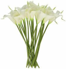 Luyue Calla Lily Bridal Wedding Bouquet Head Lataex Real Touch Flower Bouquet