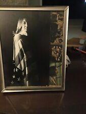 Nice, Vintage Framed John Lennon Picture Group