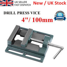 """100mm (4"""") Drill Press Bench Pillar Vice Work Wood Clamp Cast Iron UK Delivery E"""