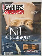LES CAHIERS de Science&vie N° 126 / Le Nil des Pharaons,le génie égyptien