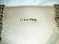 Calvin Klein Women's Tote/Shoulder Bag in light gold colour ~ New with price tag