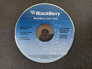 Genuine BlackBerry User Tools Phone Drivers & Tools CD-ROM