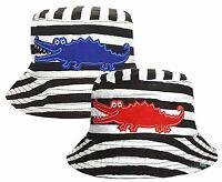 Baby Toddler Bush Hat Crocodile Design Boys Girls Summer Sun Cotton Bucket Cap