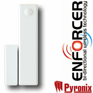 NEW PYRONIX MC1MINI-WE WIRELESS ALARM DOOR CONTACT DUAL FREQUENCY