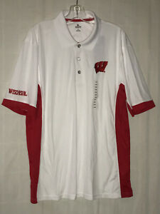 NWT KNIGHTS APPAREL WISCONSIN COLLEGE SHORT SLEEVE SHIRT SIZE LARGE
