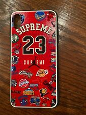 For iPhone Xs Max NIKE Cartoon NBA Jordan Air Phone Case Cover bape graphic