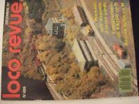 **j Loco Revue n°499 Le sud Belge en N / BB 20011 Märklin en H0