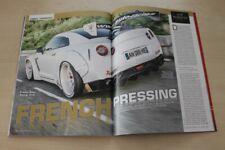 Auto Bild Sportscars 2716) Nissan GT-R France Auto Racing mit 794PS im Fahrber