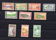 Cook Islands. 1949. GVI. Complete set of local scenes. MNH/MLH/MH.