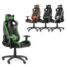 Silla oficina Gaming PRO despacho escritorio reclinable giratoria -McHaus