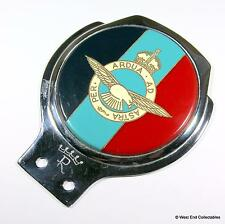 1940s/50s WW2 RENAMEL Car Badge Pristine- The Royal Air Force RAF - Auto Mascot