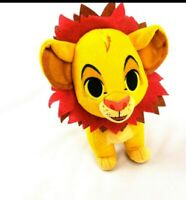 "Funko Disney Lion King Simba 8"" Plush with Leaf Mane Stuffed Animal Lion Toy"
