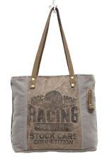 NWT Myra Bag RACING TEAM CANVAS TOTE BAG
