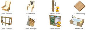 Webkinz game online virtual 10 items WINTERFEST 2018 CHALET WINTER CABIN THEME