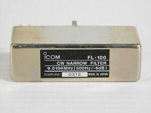 Icom FL-100 CW Narrow Filter for IC-706MKIIG 775 746 765 Ham Radio Transceivers